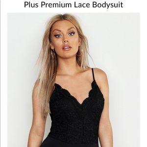 NWOT Boohoo Premium Lace Bodysuit Size 22(US 18)✨